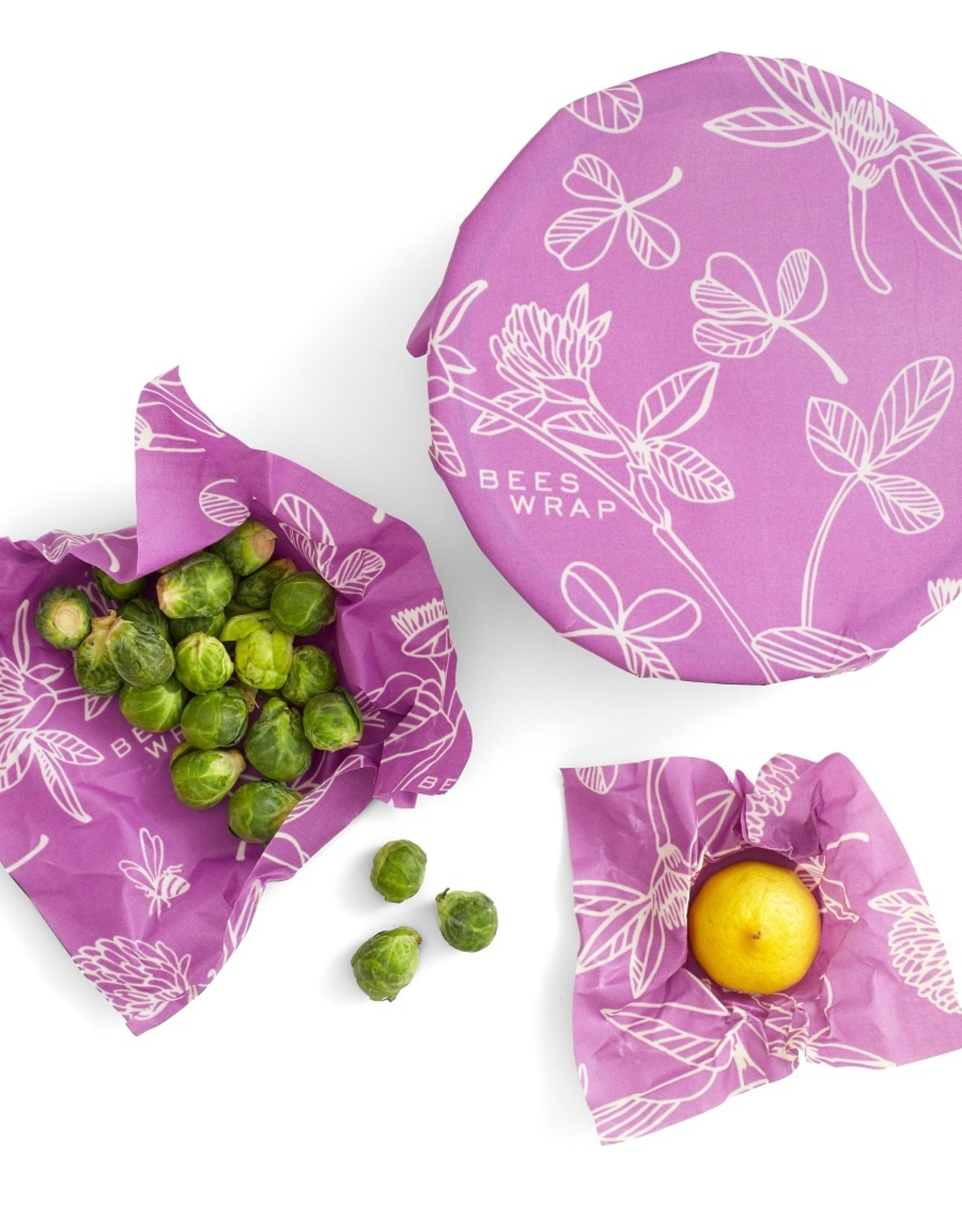 Bee's Wrap Bee's wrap - Assorted Mimi's purple (set of 3)