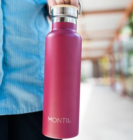 Montii Montii thermische drinkbus - 600 ml burgandy