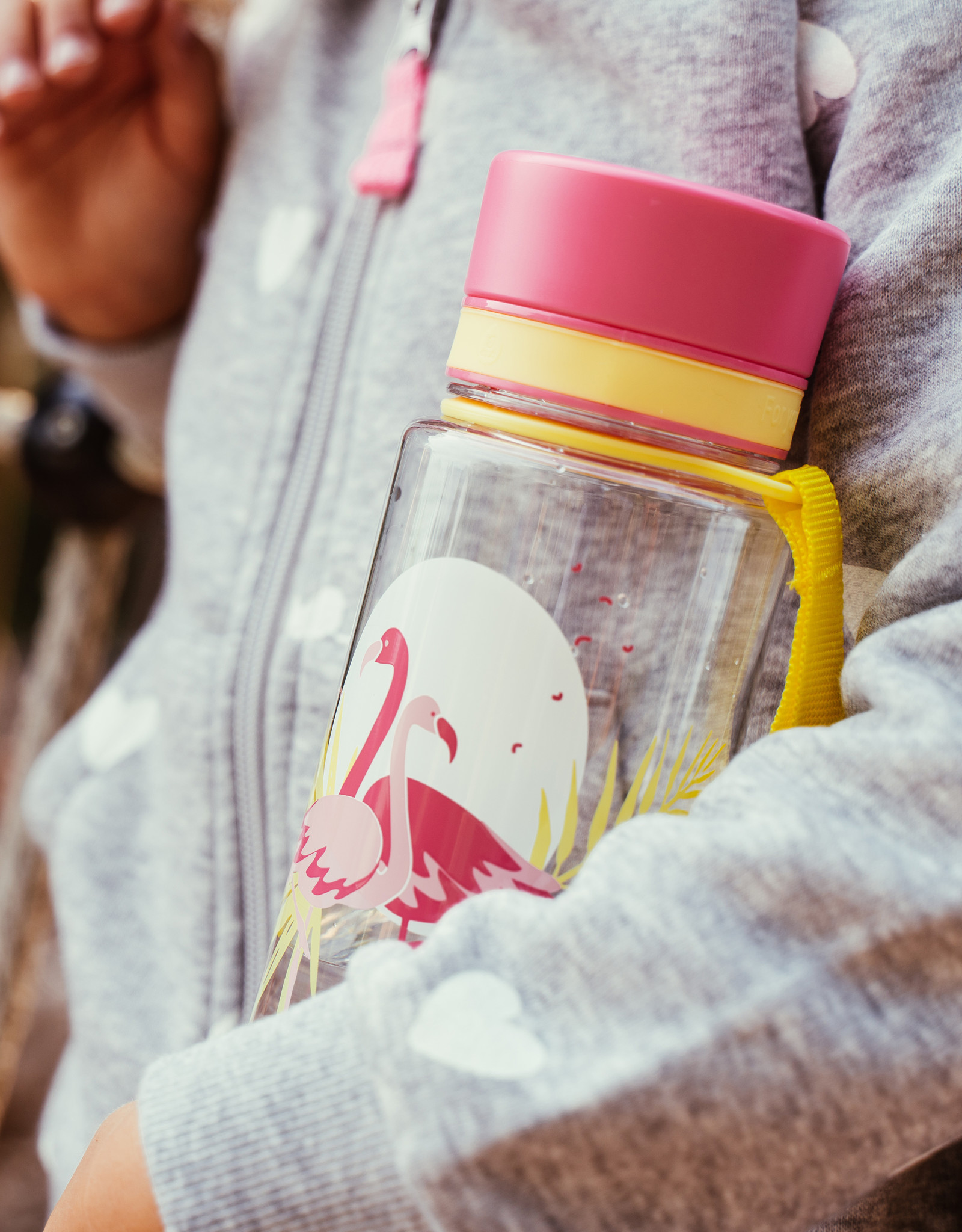 Equa Drinkbus - Flamingo 600 ml