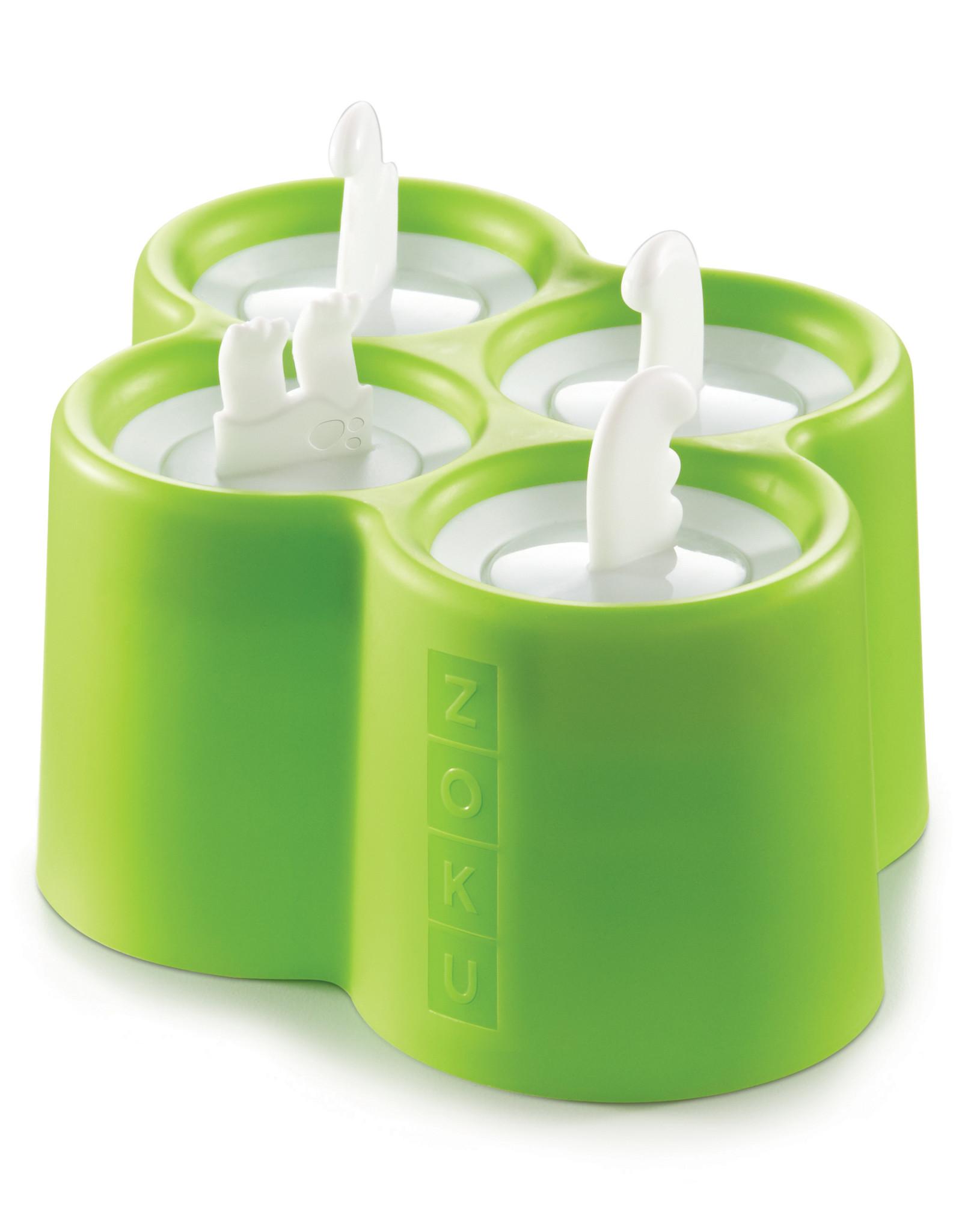 Zoku Ice lolly pop maker - Dino 4 stuks