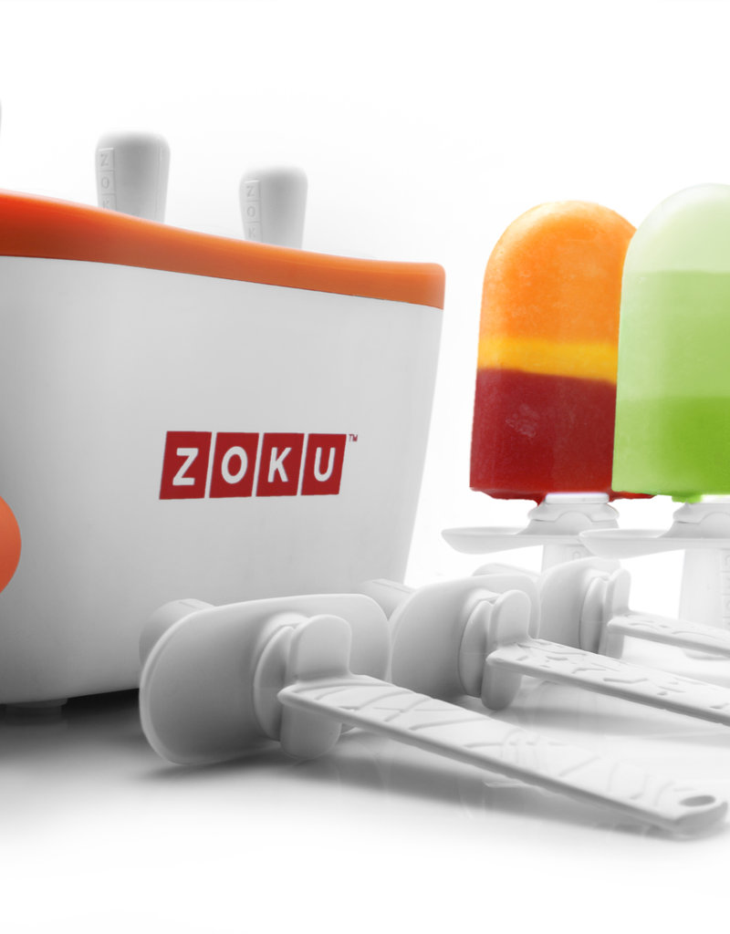 Zoku Quick pop maker - Trio blauw