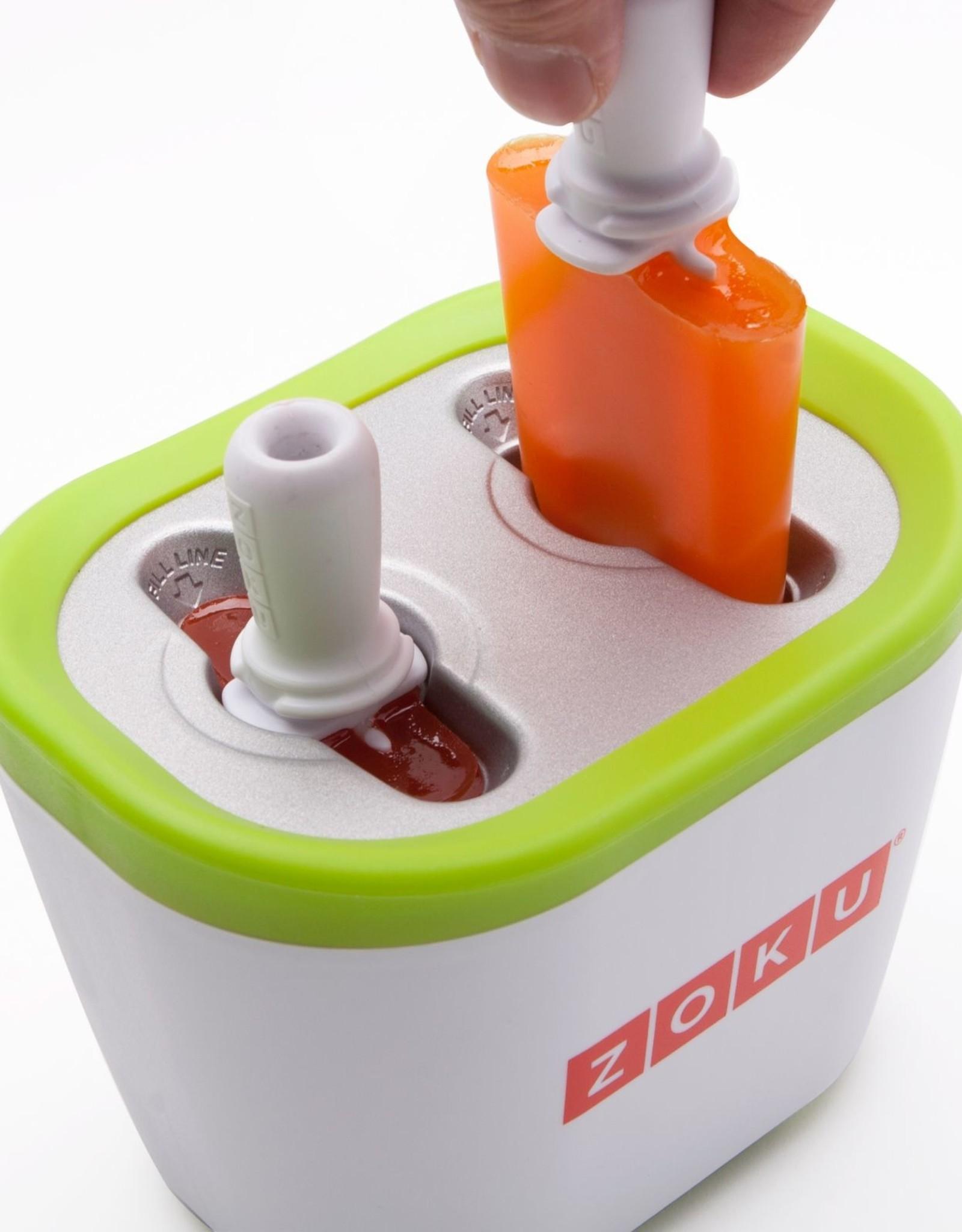 Zoku Quick pop maker - Duo oranje