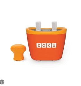 Zoku Quick pop maker - Duo oranje