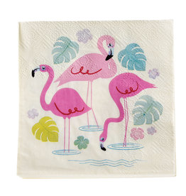 Rex London Servietten (20 stuks) - Flamingo bay