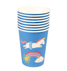 Rex London Papieren bekers (8 stuks) - Magical unicorn