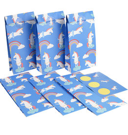 Rex London Party bags ( 6 stuks) - Magical unicorn