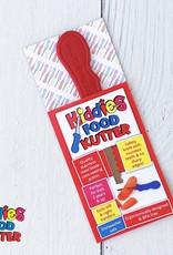 Kiddies Food Kutter Kiddies mes voor kinderen - Rood