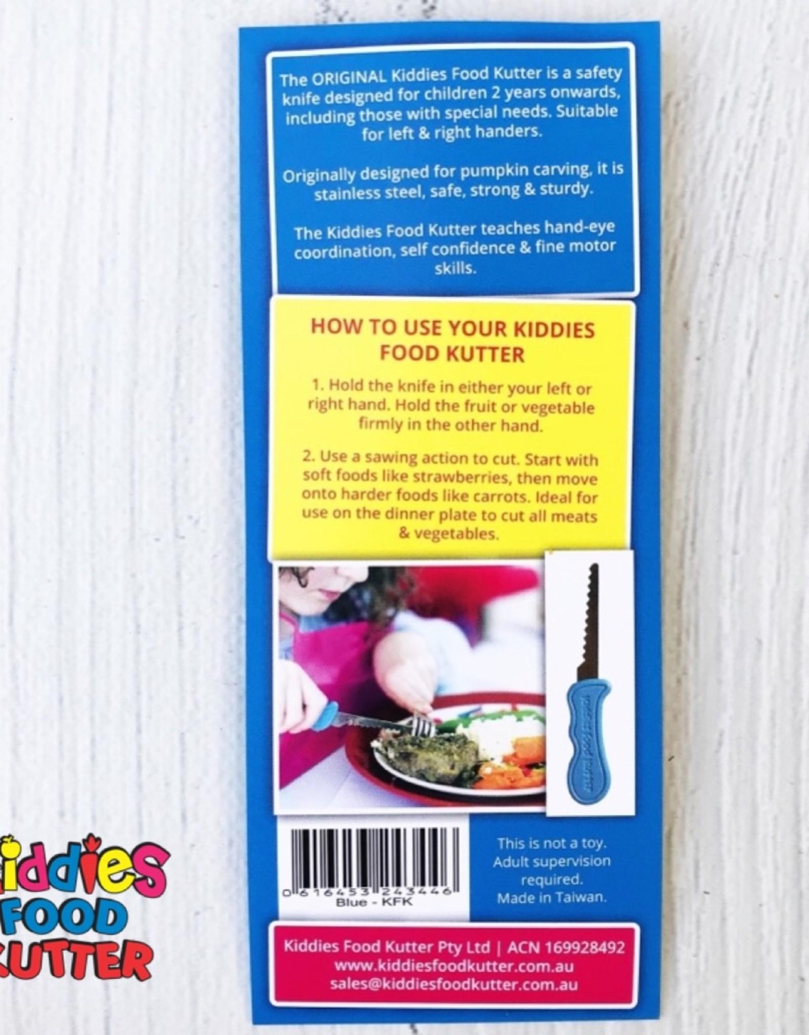 Kiddies Food Kutter Kiddies mes voor kinderen - Geel