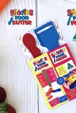 Kiddies Food Kutter Kiddies duo pack: mes + schiller - Roze
