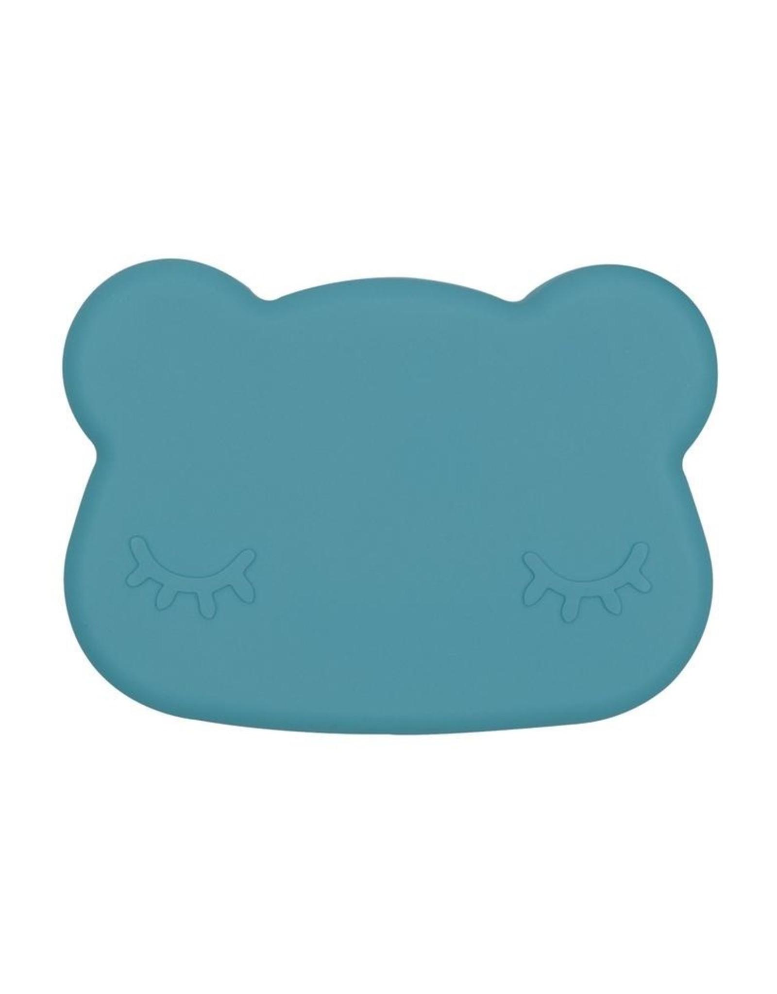 We Might Be Tiny Snackie bear - Blue dusk