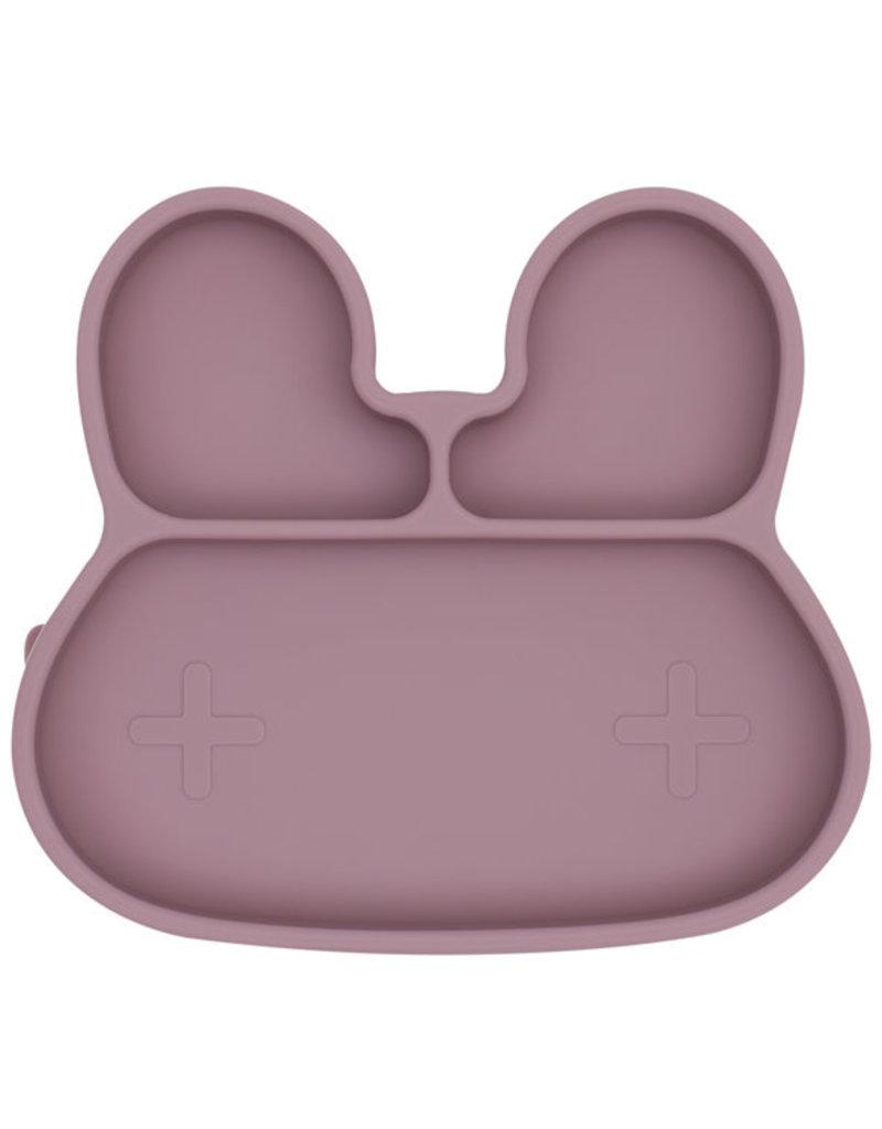 We Might Be Tiny Sticky plate bunny - Dusty rose