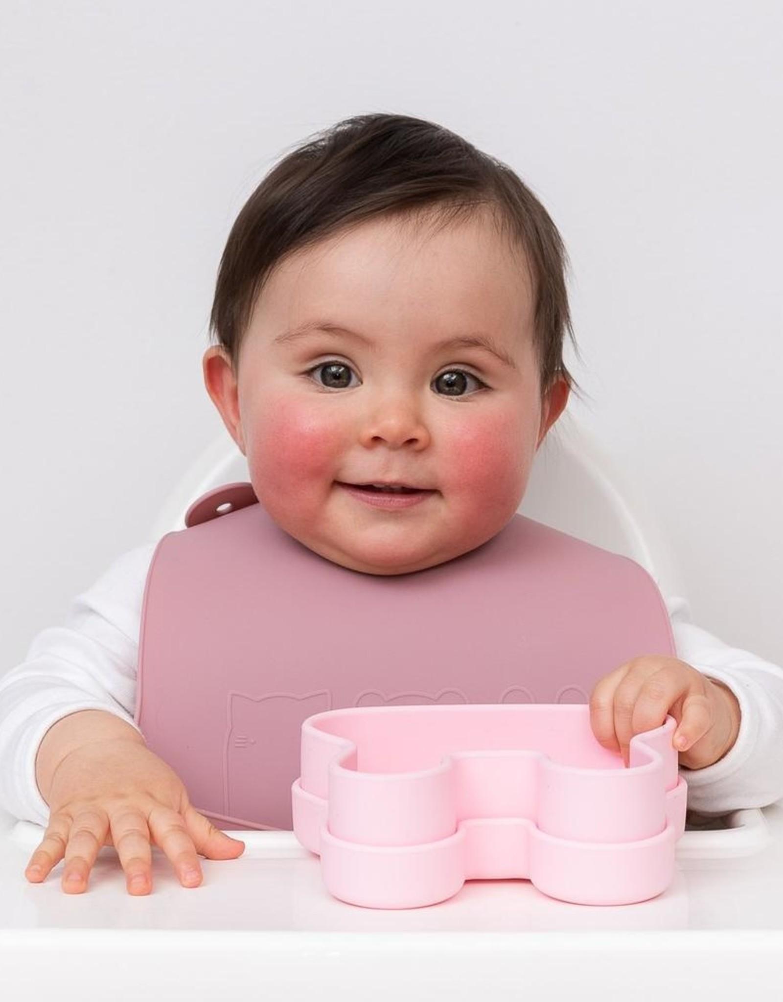 We Might Be Tiny Silicone slabben (Set van 2) - Dusty rose + powder pink
