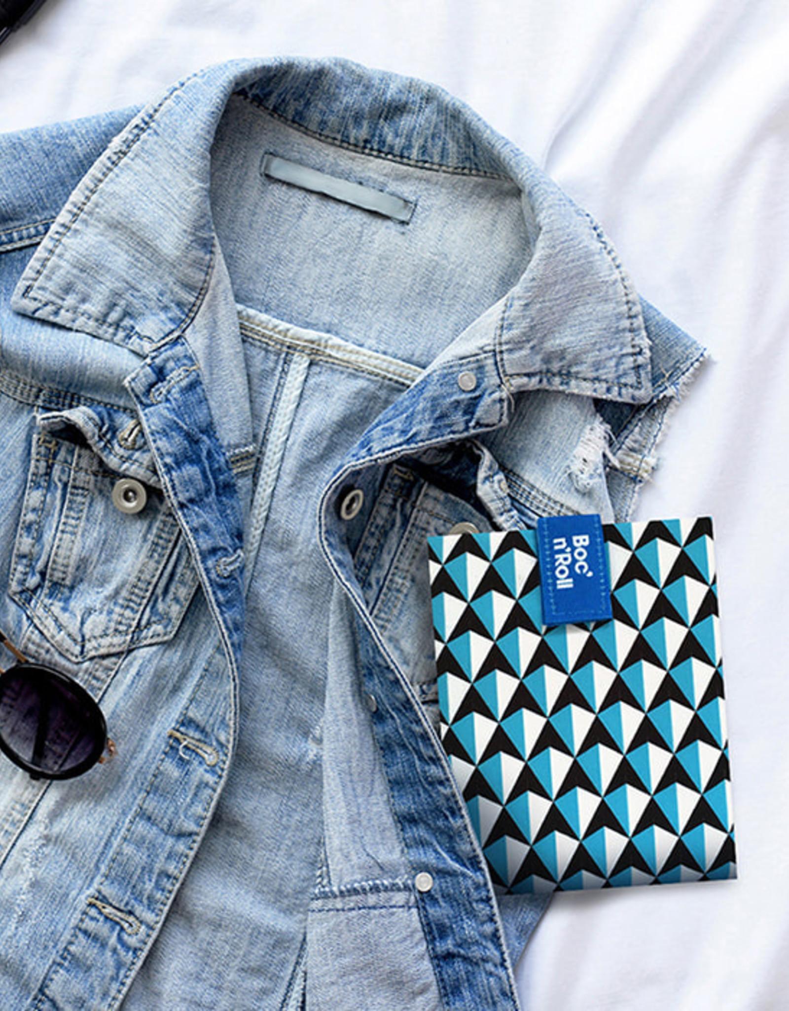Roll'Eat Boc'n'Roll - Tiles blue