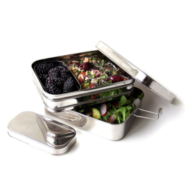 Eco Lunchboxes RVS lunchbox - 3 in 1 giant