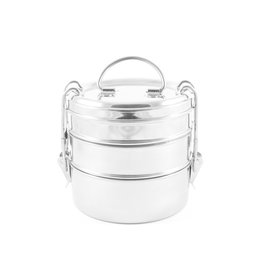 Eco Brotbox RVS lunchbox - Tiffin swing