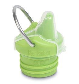 Klean Kanteen Sippy cap groen met beugel