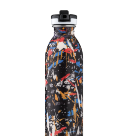 24 bottles Urban bottle - Graffiti beat 500 ml