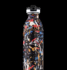 24 bottles Urban bottle - Graffiti beat 500 ml
