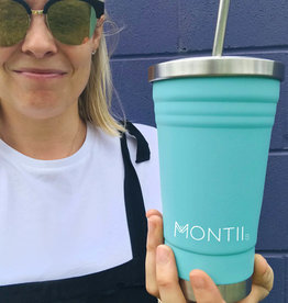 Montii Smoothie cup - Turquoise 450 ml