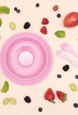 bobo & boo Bamboe dinner set - Blossom pink