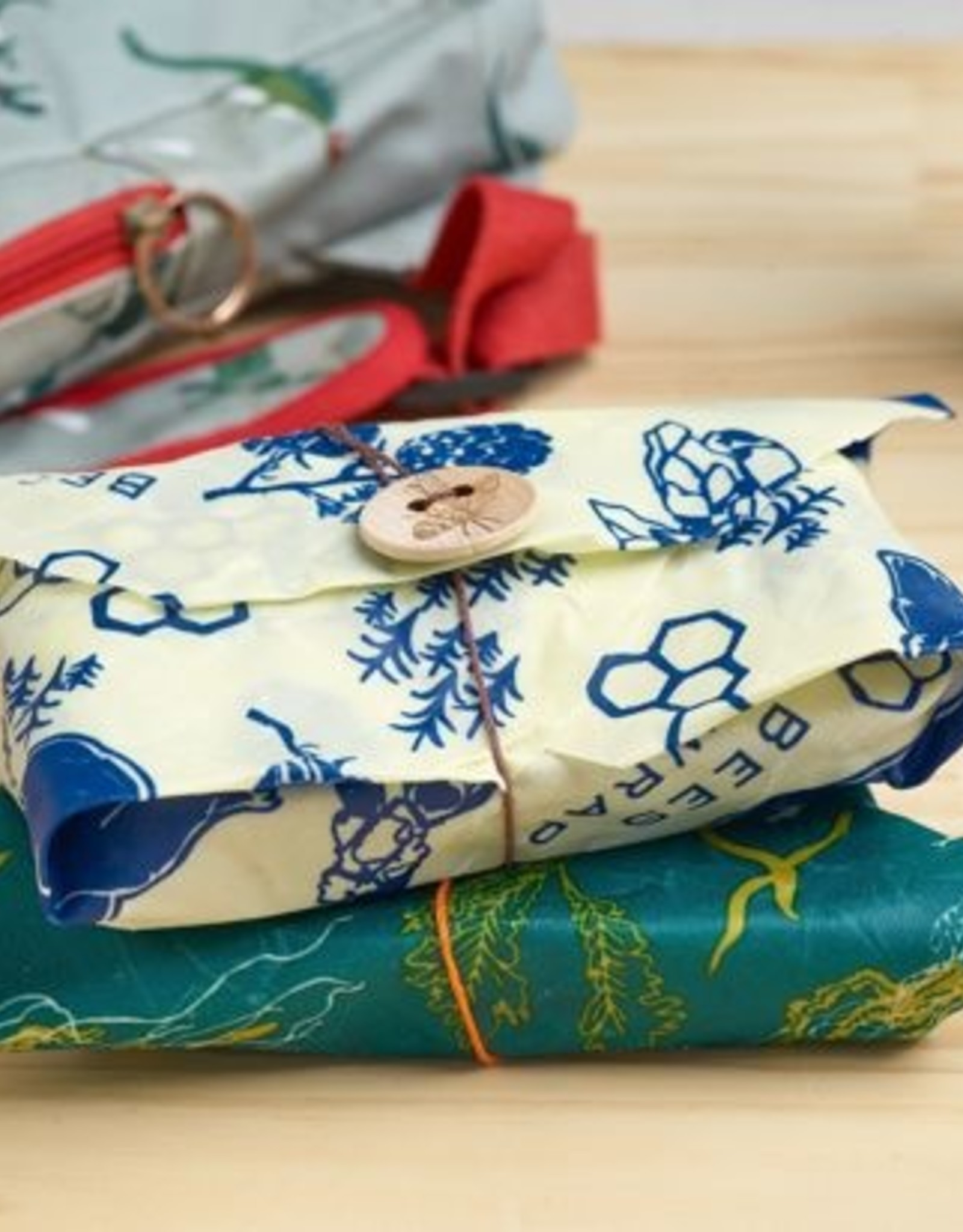 Bee's Wrap Bee's wrap - 2-pack Sandwich Wildlife
