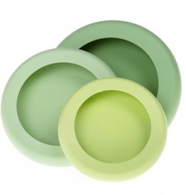 Food Huggers Food Huggers (set van 3) - Soft greens