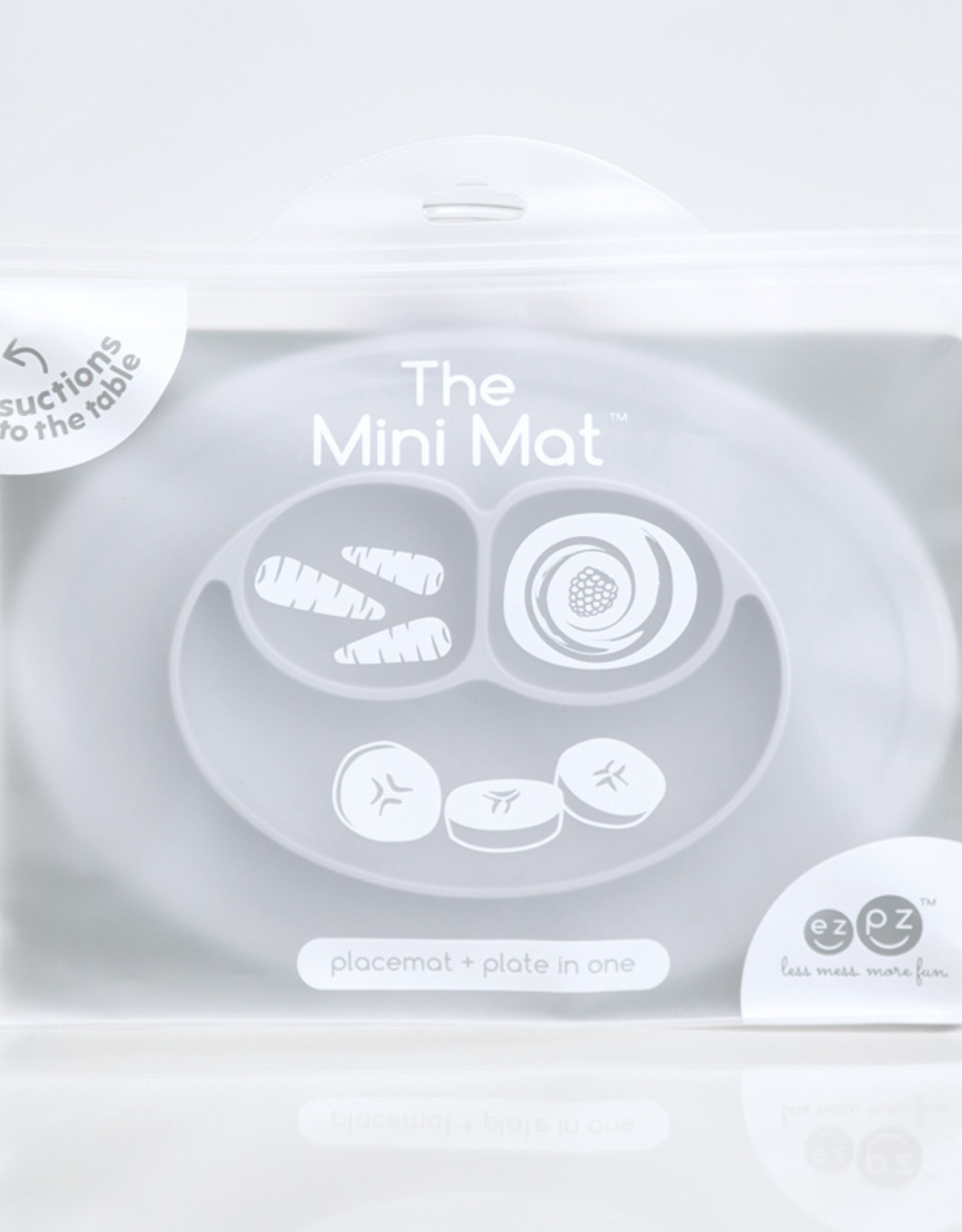 EZPZ Mini mat - Pewter