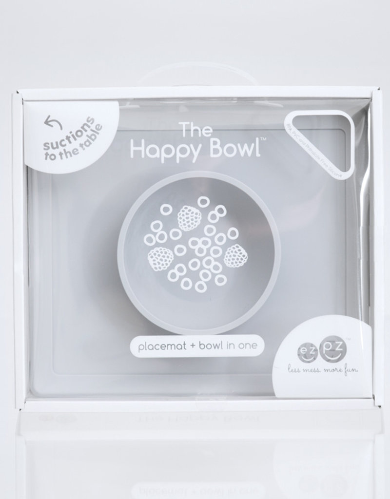 EZPZ Happy bowl - Pewter