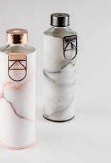 Equa Glazen drinkfles met cover - Lava 750 ml