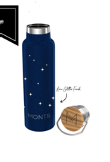 Montii Montii thermische drinkbus - 600 ml midnight glitter