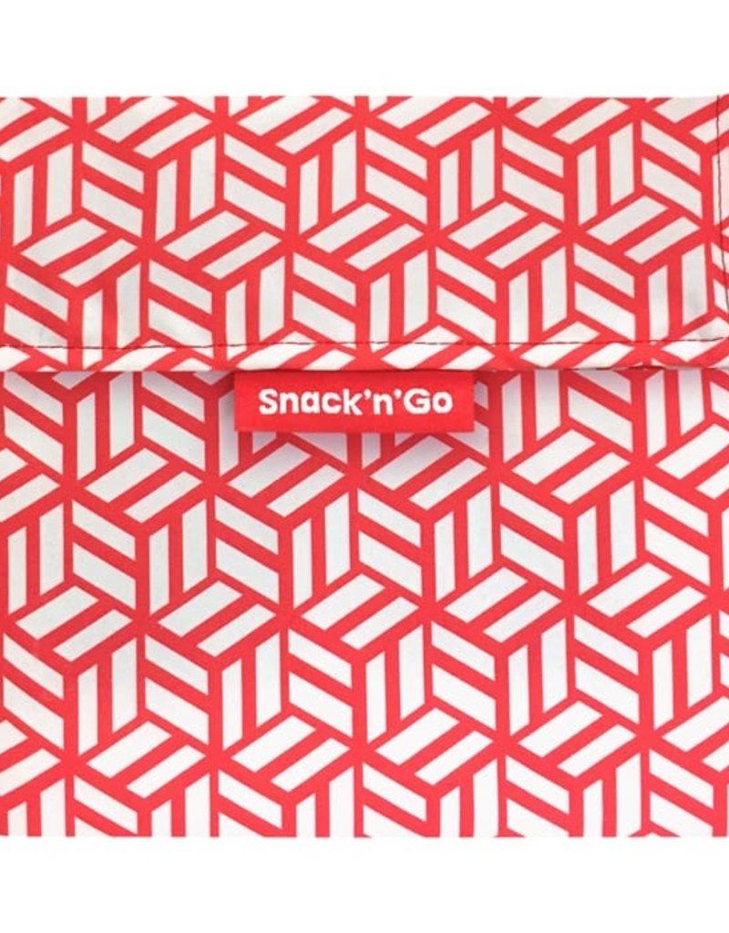 Roll'Eat Snack'n'Go - Tiles red