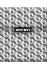 Roll'Eat Snack'n'Go - Tiles black