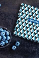 Roll'Eat Snack'n'Go - Tiles blue