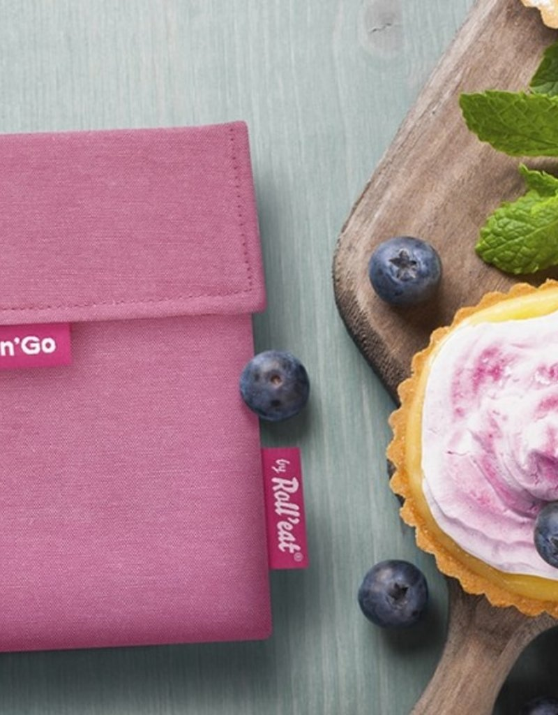 Roll'Eat Snack'n'Go - Eco pink