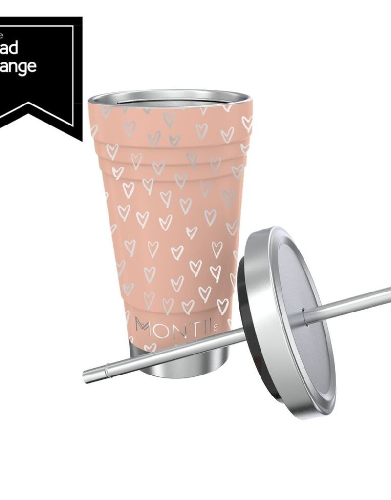 Montii Smoothie cup - Peachy hearts 450 ml