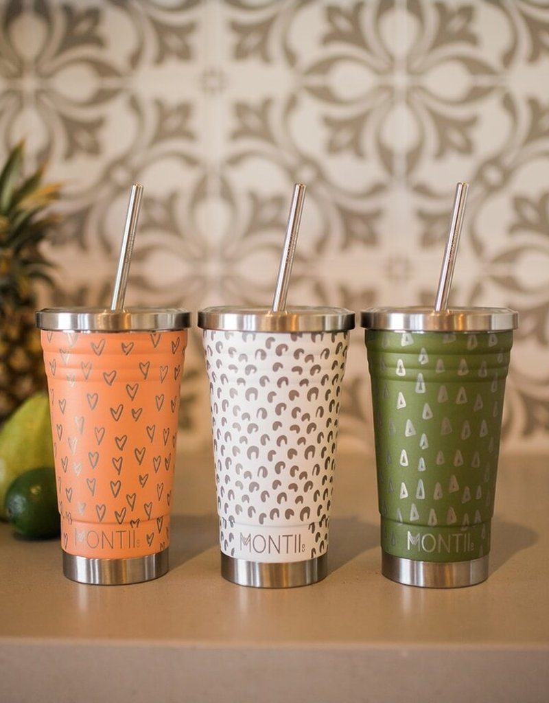 Montii Smoothie cup - Olive geo 450 ml