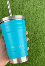 Montii  Mini smoothie cup - Aqua glitter 275 ml