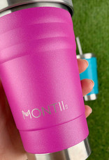 Montii  Mini smoothie cup - Magenta glitter 275 ml