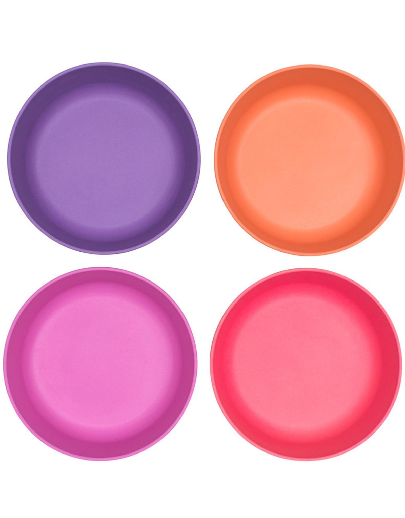 bobo & boo Bamboe bowl set - Sunset pink