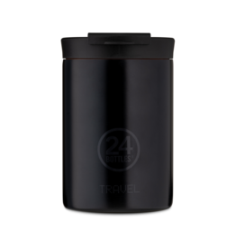 24 bottles Travel tumbler koffiebeker - Tuxedo black 350 ml