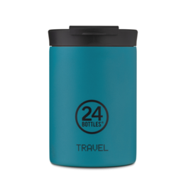 24 bottles Travel tumbler koffiebeker - Atlantic bay 350 ml