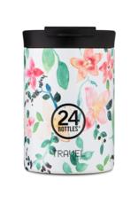 24 bottles Travel tumbler koffiebeker - Little buds 350 ml
