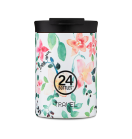 24 bottles Travel tumbler koffiebeker - Little buds 350 ml
