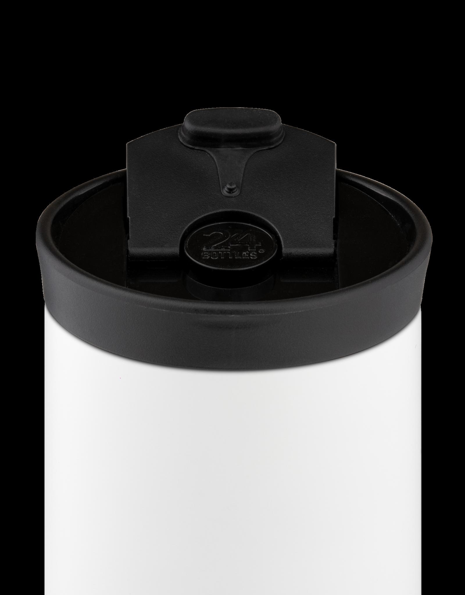 24 bottles Travel tumbler koffiebeker - Ice white 600 ml
