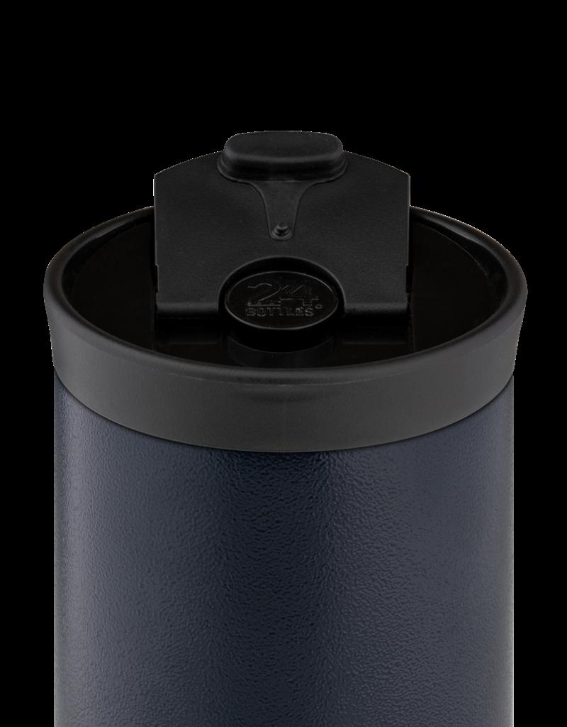 24 bottles Travel tumbler koffiebeker - Deep blue 600 ml