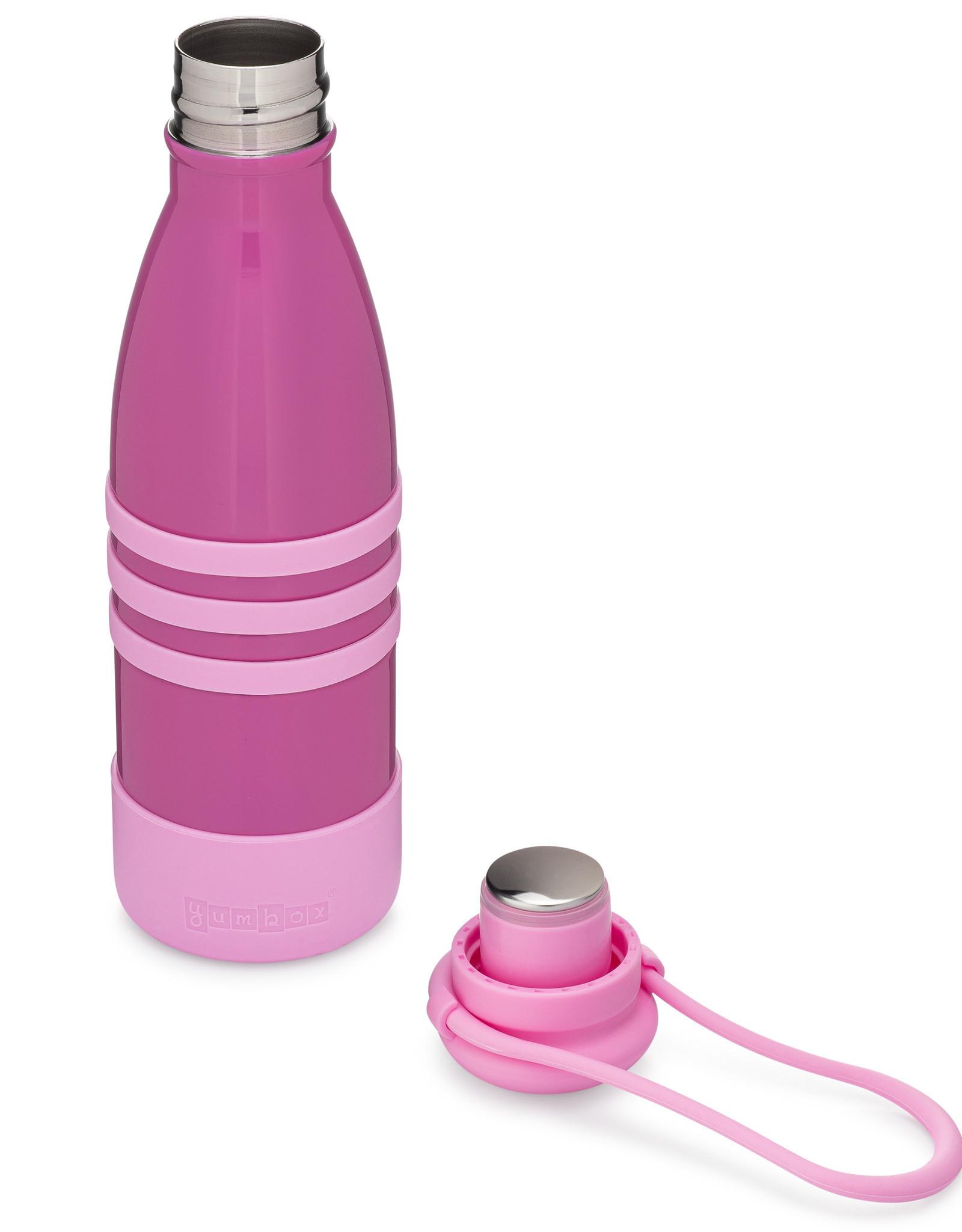 Yumbox Aqua thermo fles - Roze