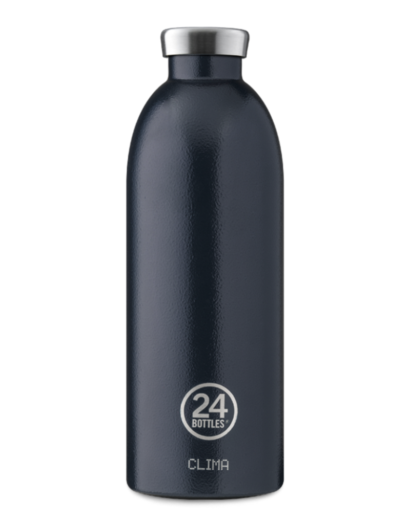 24 bottles Clima bottle - Deep blue 850 ml