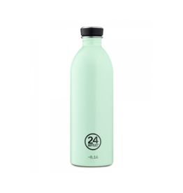 24 bottles Urban bottle - Aqua green 1000 ml
