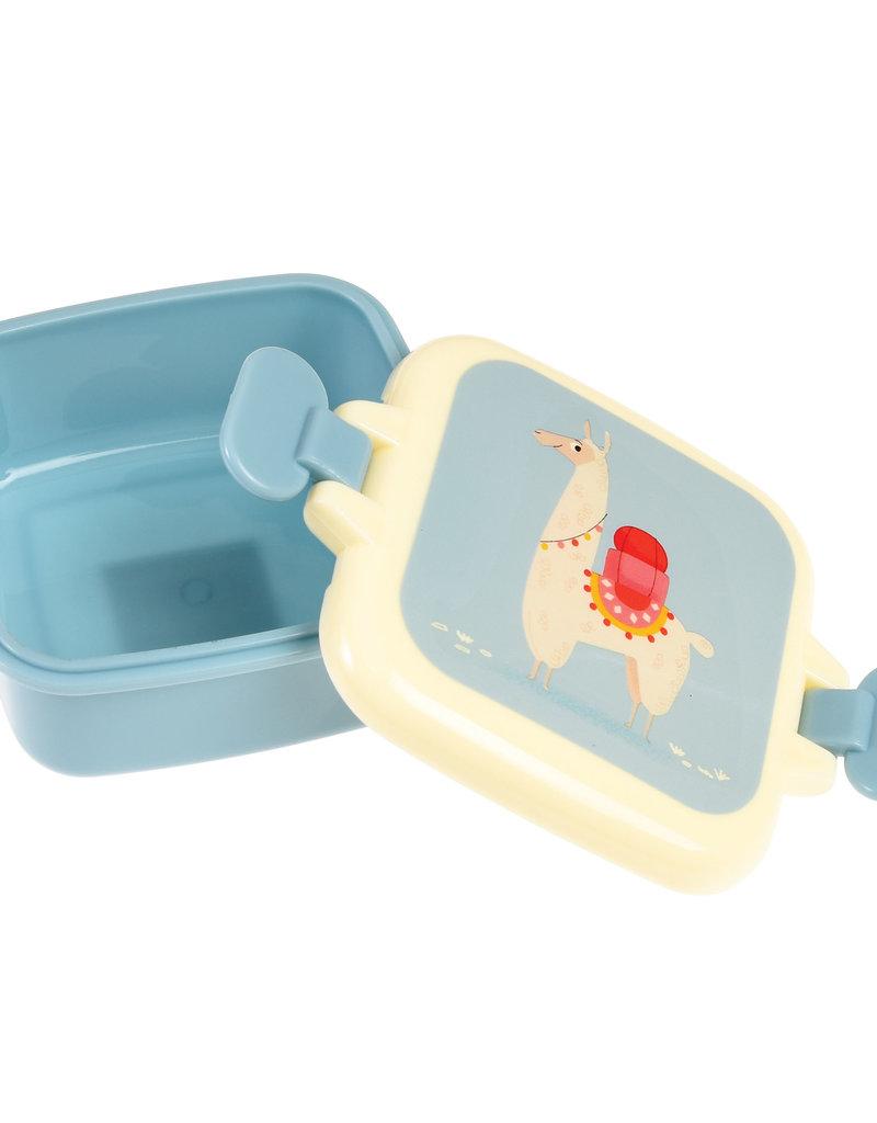 Rex London Mini snackdoosje - Dolly llama