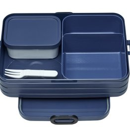 Mepal Bento lunchbox take a break large - nordic denim